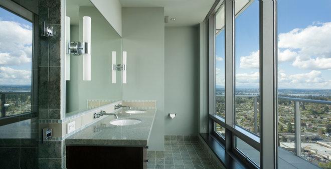 Contemporary Bathroom by Wascha Studios