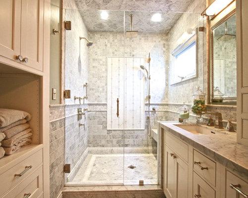 Orange County Bathroom Design Ideas Renovations Photos With Beige Cabinets