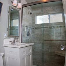 Traditional Bathroom by Poinsettia Designs