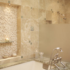 Traditional Bathroom by Synthesis Inc.