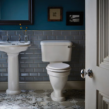 Beautiful bathrooms in blue