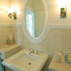 Traditional Bathroom by Sutton Suzuki Architects