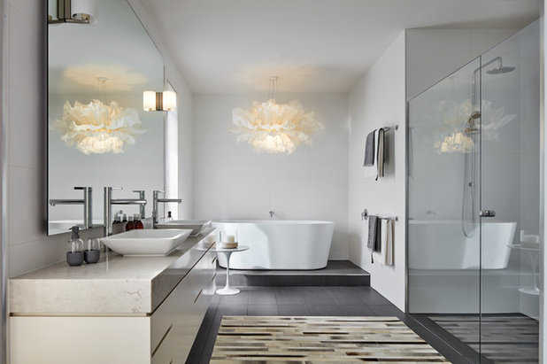 Contemporary Bathroom by Glenvill Homes