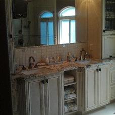 Traditional Bathroom by Amy Carpenter Interior Design