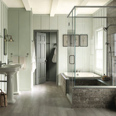Traditional Bathroom by Island Paint and Decorating