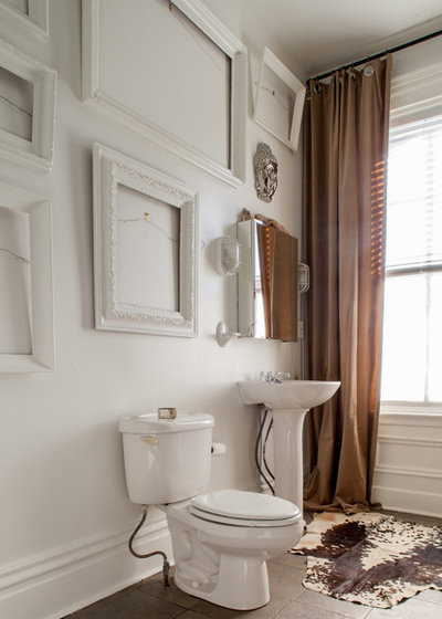 Eclectic Bathroom by Jason Snyder