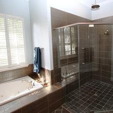 Modern Bathroom by Morrone Interiors