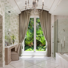 Transitional Bathroom by Courchene Development Corp
