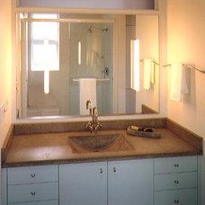 Modern Bathroom by Jetton Construction, Inc.