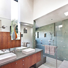 contemporary bathroom by WA design