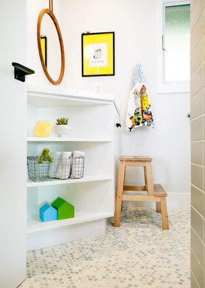 Good Midcentury Bathroom by Regan Baker Design Inc