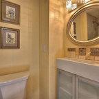 Leavitt Residence Contemporary Bathroom Chicago By Besch Design Ltd