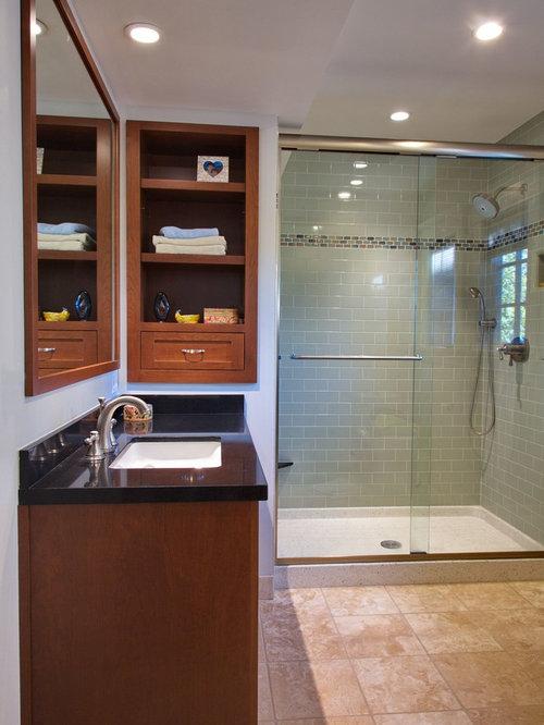 terrazzo shower pan | houzz - Terrazzo Shower Base