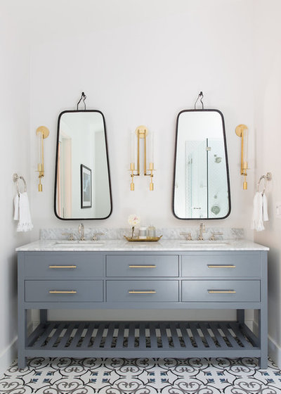 Transitional Bathroom by Love & Interiors