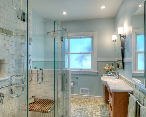 universal design bathrooms design ideas  remodel pictures  houzz, Home designs
