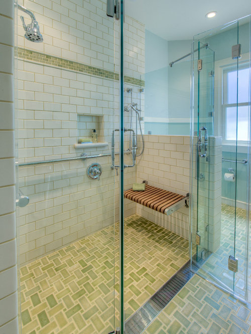 elegant bathroom photo in san francisco - Handicap Bathroom Designs