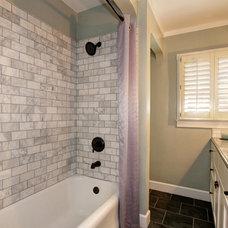 Craftsman Bathroom by Ultimate Designs