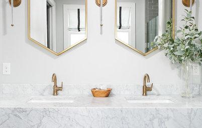 Photothèque : 50 miroirs brillent dans les salles de bains