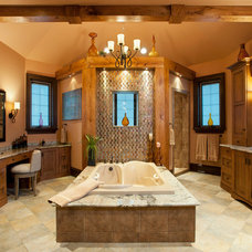 Traditional Bathroom by WPL Interior Design