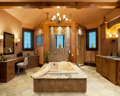 Center Tub Bathroom Design : Center tub home design ideas pictures remodel and decor