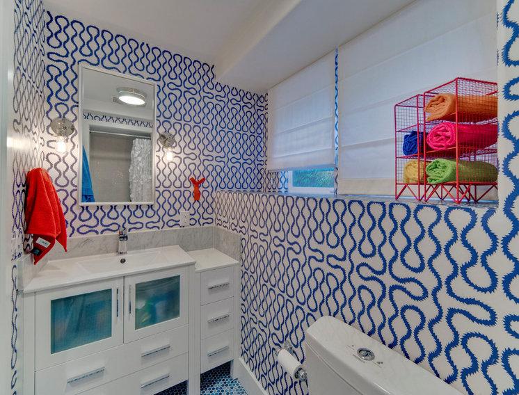 Contemporary Bathroom by Seldin Design Studios