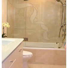 Contemporary Bathroom BERYN HAMMIL DESIGNS