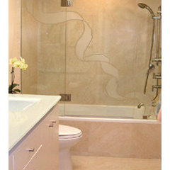 contemporary bathroom by BERYN HAMMIL DESIGNS - ASID