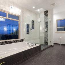 Contemporary Bathroom by U.K. Gill Homes