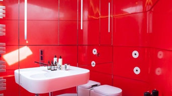 Bespoke Krion Bath and Thermoformed Walls