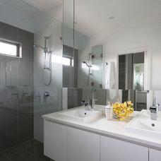Contemporary Bathroom by Massimo Interiors