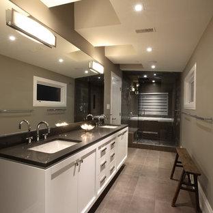 Dark Countertop Bathroom Ideas Houzz