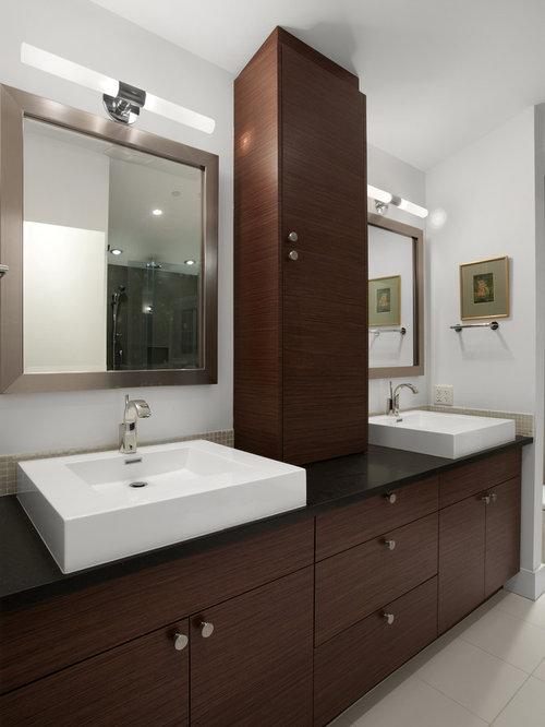 Cabinet Between Sink   Houzz