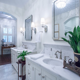 Example of a country bathroom design in Other