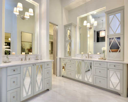 Mirrored Cabinet Doors Ideas Pictures Remodel And Decor