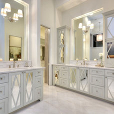 Transitional Bathroom by By Design Custom Home Concierge