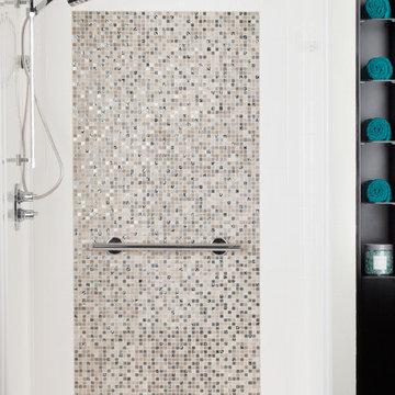 Bestbath commercial shower faux tile shower walk in shower