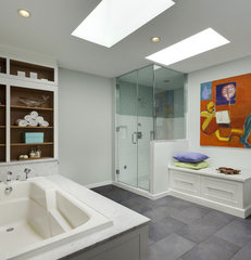 traditional bathroom by Aidan Design
