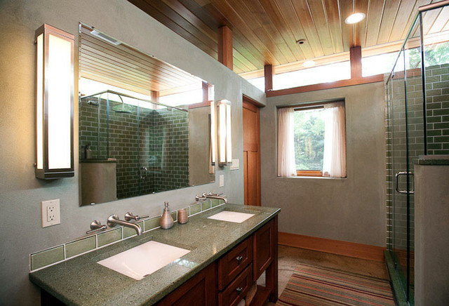 Eclectic Bathroom by Sustainable Design Group