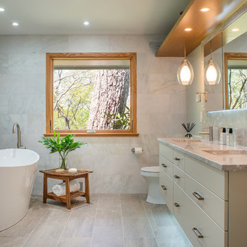Bethesda, Maryland - Contemporary - Master Bath