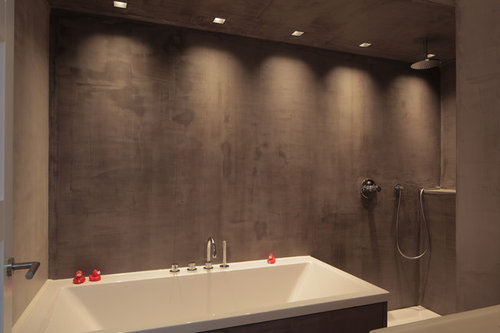 Toilet Beton Cire : Beton ciré contemporary bathroom cologne by krisma