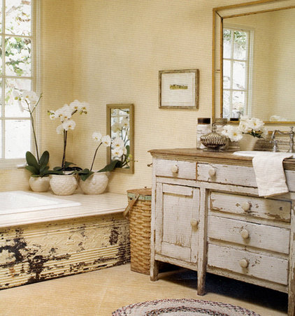 eclectic bathroom by Sandy Koepke