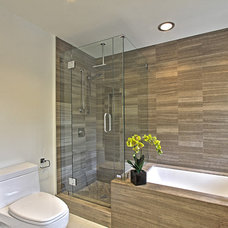 Midcentury Bathroom by Classical Progression Inc.