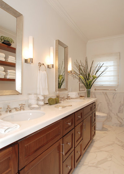 Traditional Bathroom by Annette English & Associates