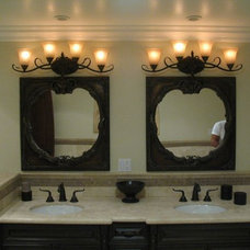 Eclectic Bathroom by Construction Owl