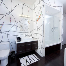 Modern Bathroom by Studio1Plaster