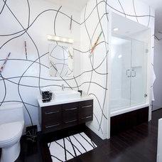 Modern Bathroom by Studio1Plaster