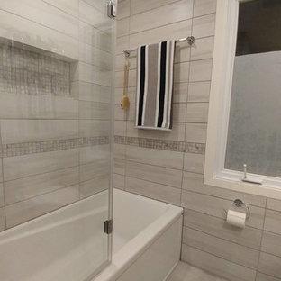Idéer för att renovera ett litet amerikanskt en-suite badrum 6eca9b0a048a2