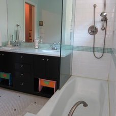 Contemporary Bathroom by Beverly Vosko Interiors and Remodeling