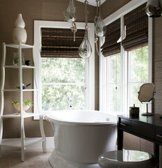 modern bathroom by Heather Garrett Design