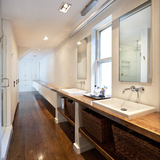 Modern Bathroom by Bunker Workshop